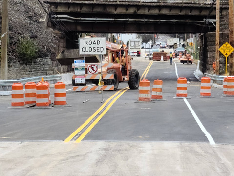 Butler Pike to Reopen Friday 12/18/2020