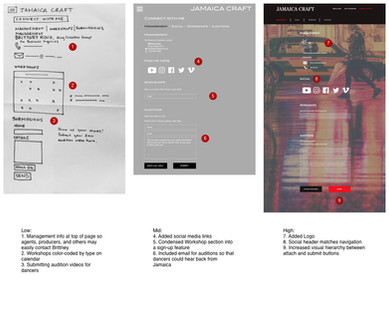 Connect with me screen