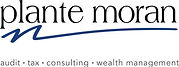 Plante Moran logo with tagline- Color.jp