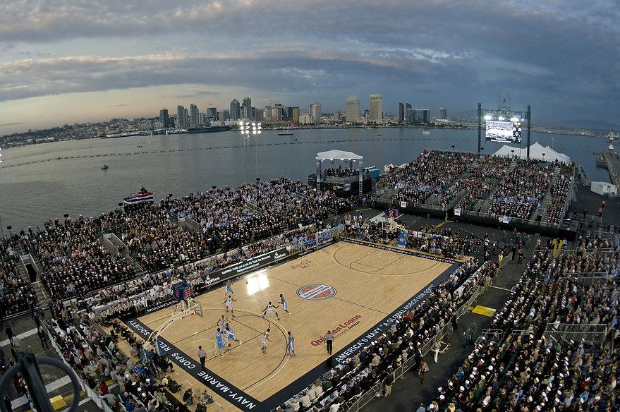 basketball court san diego