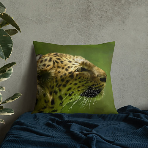 Premium Pillow Leopard