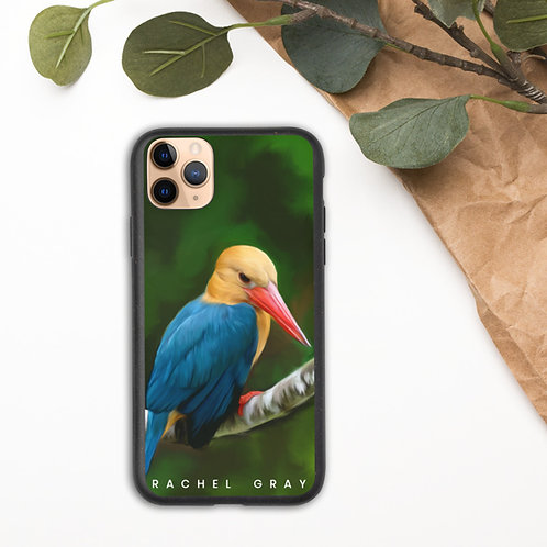 Kingfisher Biodegradable iPhone case
