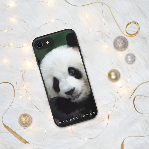 Panda Biodegradable iPhone case