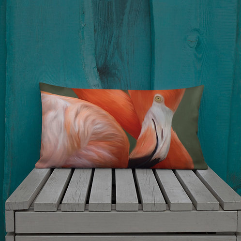 Flamingo Premium Pillow