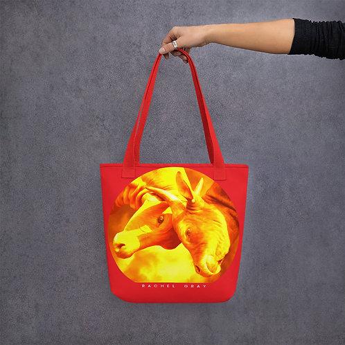 Golden Bulls Tote bag