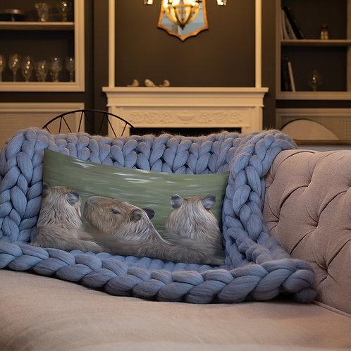Capybara Premium Pillow