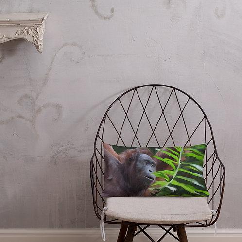 Orangutan Premium Pillow