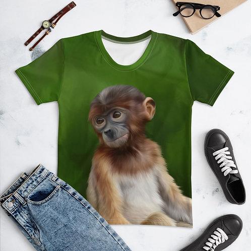 Women's T-shirt Proboscis Monkey