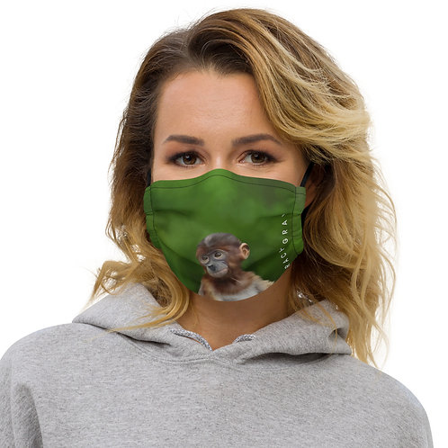 Proboscis Monkey Premium face mask