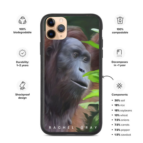 """""""In Thought"""" Biodegradable iPhone Case"""