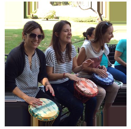 El circulo de tambores
