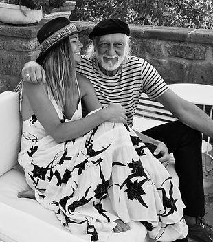 Solé Weller and Mick Fleetwood, Fleetwood Mac wellness coach