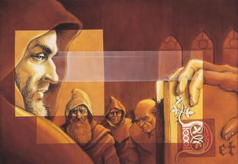 Reunión de monjes