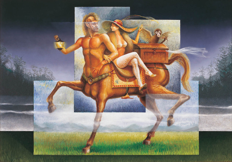 The Fleeing of the Centaur and Rosita
