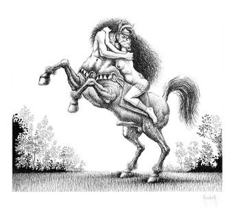 El beso del centauro