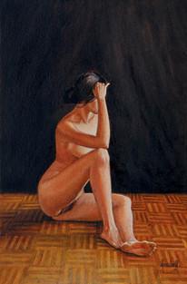 Desnudo de perfil