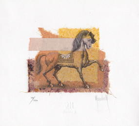 Little horse collage