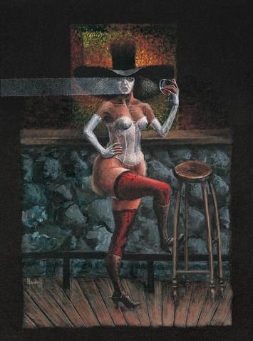 Una copa en el bar