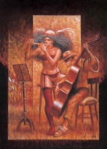 Flute and Cello Couple