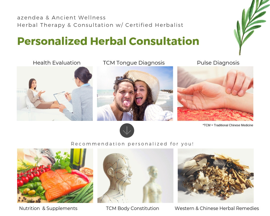 azendea herbal consultation