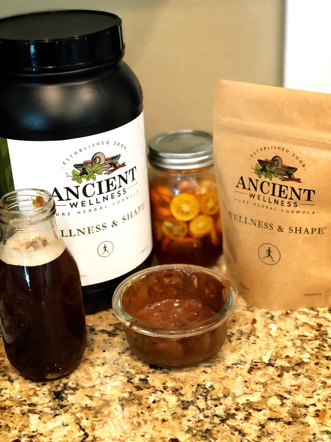 Easy Peasy Herbal Syrup: Kumquat Honey and Wellness & Shape
