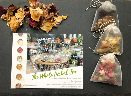 Healthy Whole Herbal Infusion Sample Pack