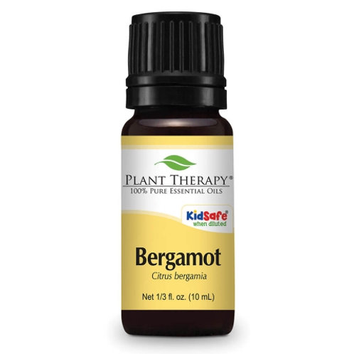 100% Pure Bergamot Essential Oil, 10ml