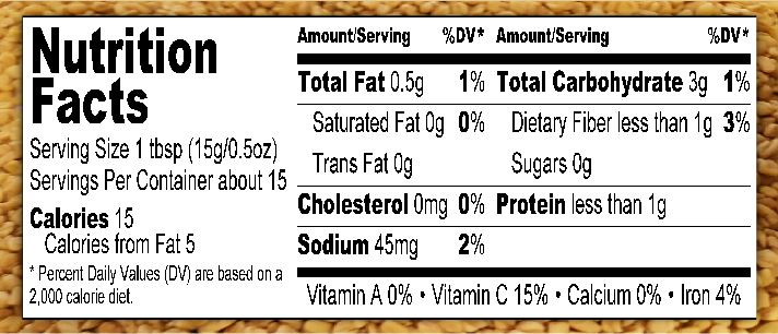 Nutritional Fact Capture