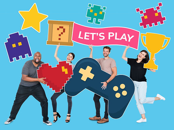 playful-diverse-people-holding-gaming-ic