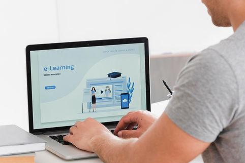 university-student-e-learning-landing-pa