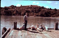 009-Daryl Ayah Judith Wenda Gren and.... Rocky Bay whalf 1958