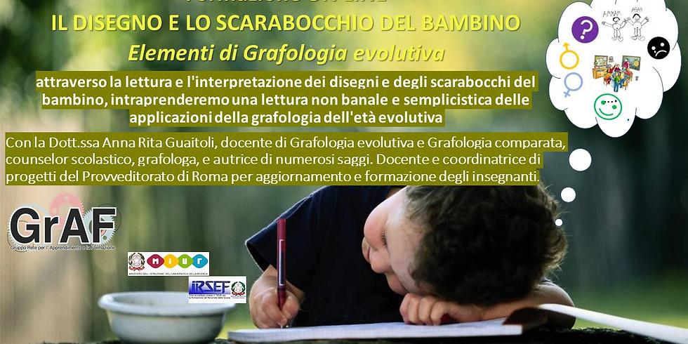 """ON LINE - """"IL DISEGNO E LO SCARABOCCHIO DEL BAMBINO"""""""