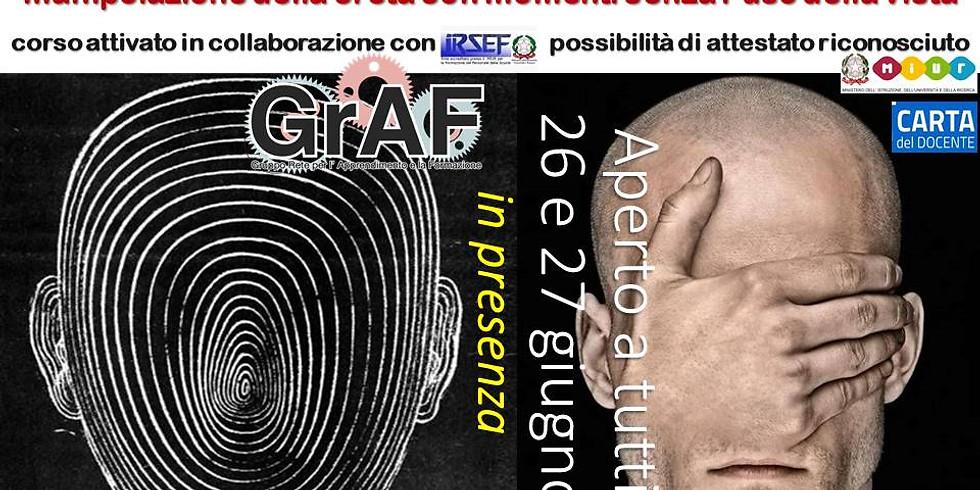 La CRETA AL BUIO con il maestro Felice Tagliaferri