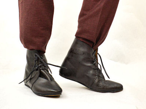 Crusader Leather shoes (tied)
