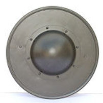 Blackened Steel Buckler - 14 Gauge - SNS2124BK14