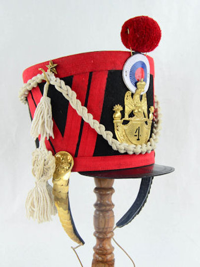 French Napoleonic Shako Helmet - AH6095