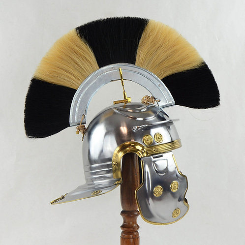 Roman Imperial Gallic ''G'' Officer's Helm- 18 Gauge Steel - AH6061