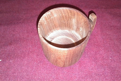 Small 6oz wooden mug