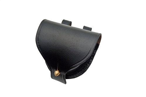 Plain Leather Cap Box