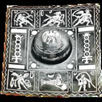 AH6750 Decorative Square Shield Boss