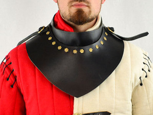 Leather Gorget - LB25319