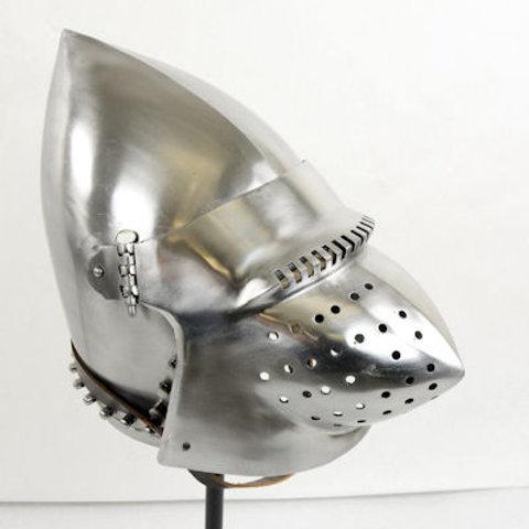 Houndskull Bascinet - 16 Gauge Steel - SNH2264PL16