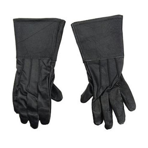 Black Leather Gauntlets - AH6174