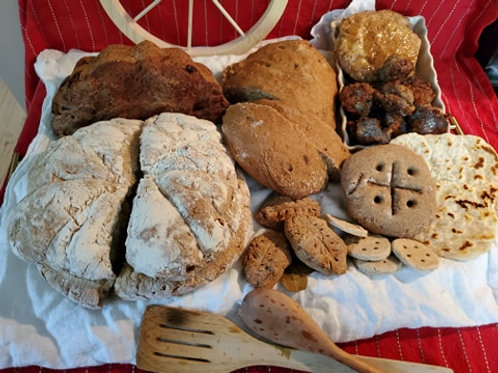 Baking Roman Bread- Unleavened by Arria Marina