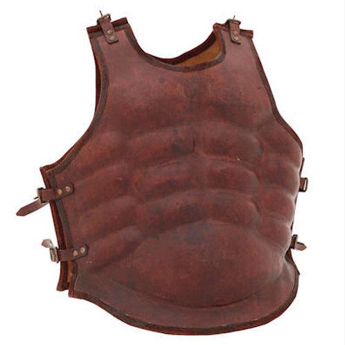 AH6071L Greek Leather Muscle Armor