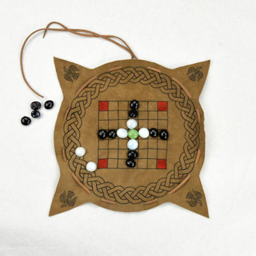 Viking / Celtic Portable Hnefatafl Game Set - LB25399
