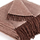 Thumbnail: 100% Wool Blanket w/ fringe (Brick Red)