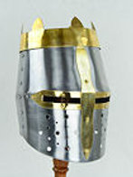 Royal Crowned Great Helm - 20 Gauge - AH3852