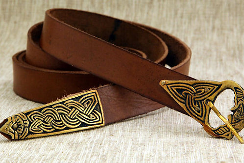 Viking Leather Belt - AH6786