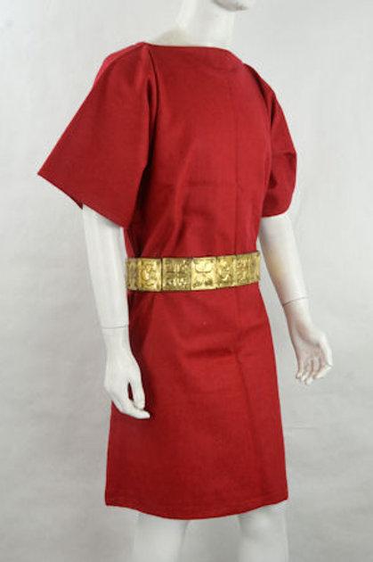 AH6106 Red Wool Tunic